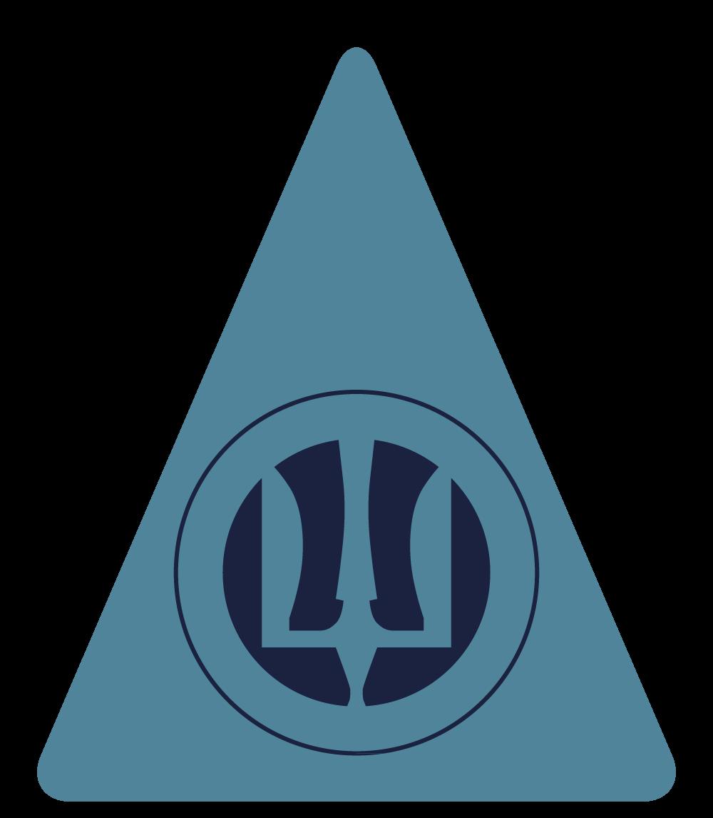 В студії вирішили розробити не тільки емблему, але і форму патчу для Повітряних Сил. Патч своєю геометрією нагадує сучасний літак