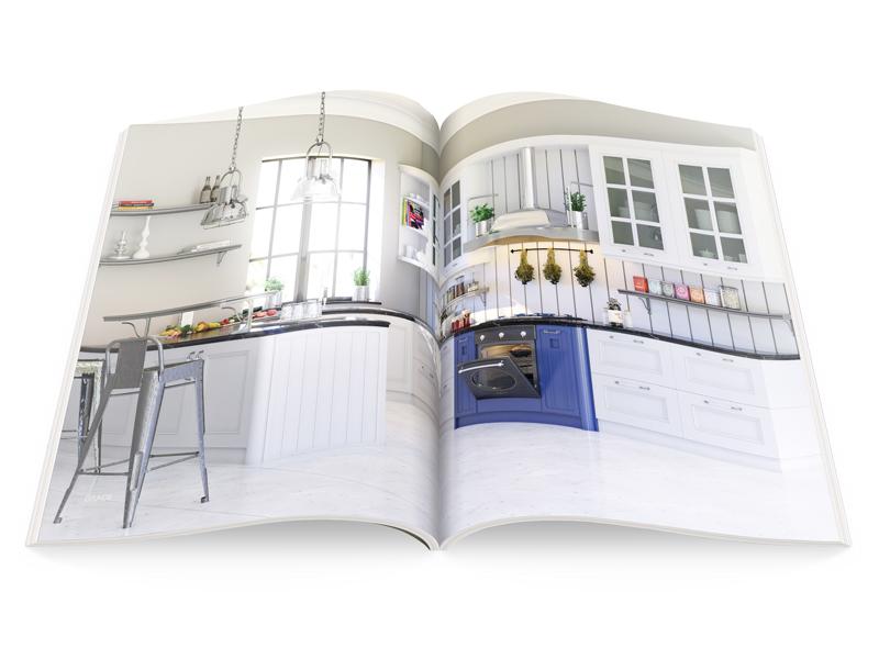 Каждой кухне посвящены два разворота.