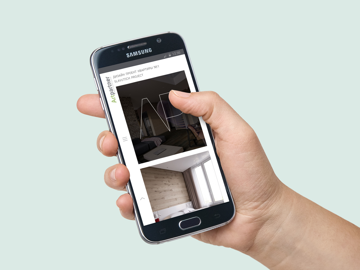 Кроме десктопной версии была также разработана отдельная мобильная версия