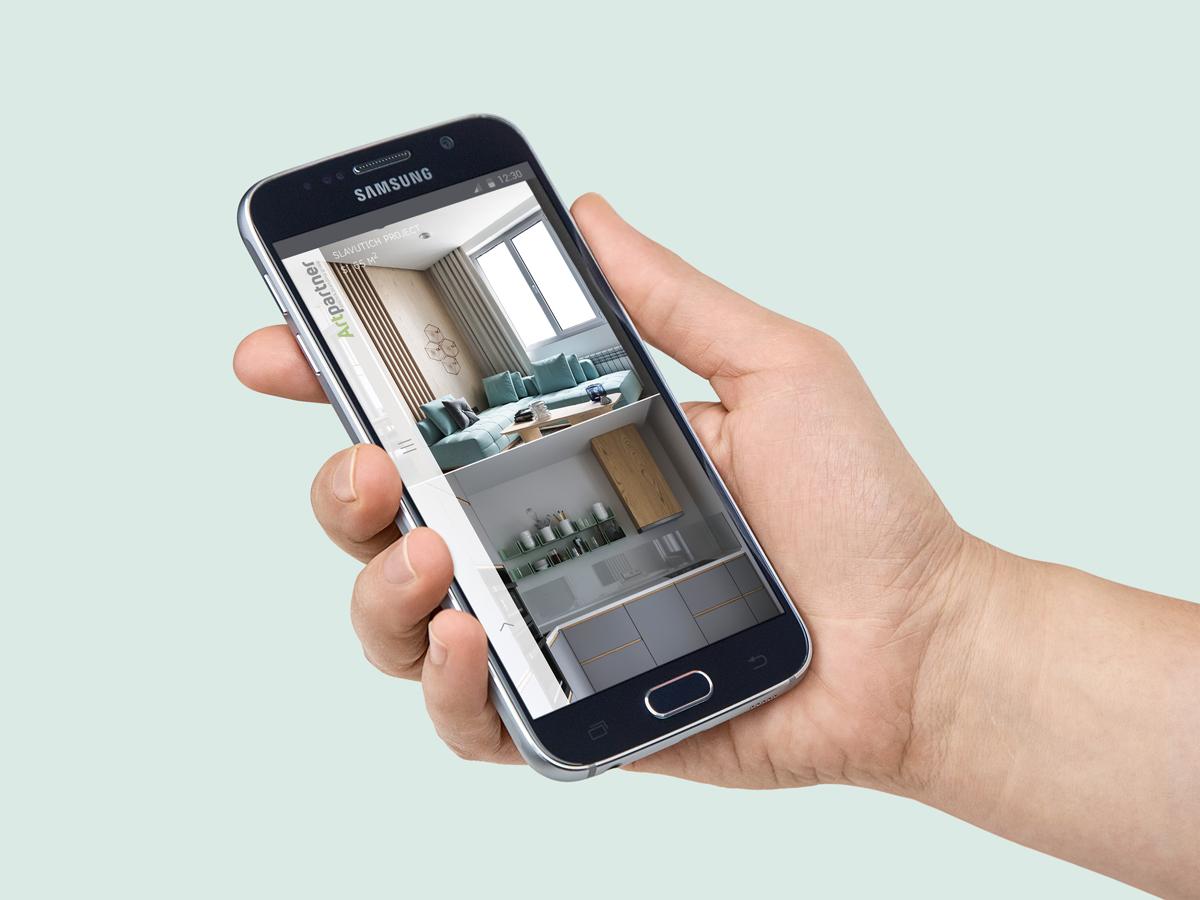 Проекты студии теперь удобно просматривать на любых устройствах строя планы о собственном жилье
