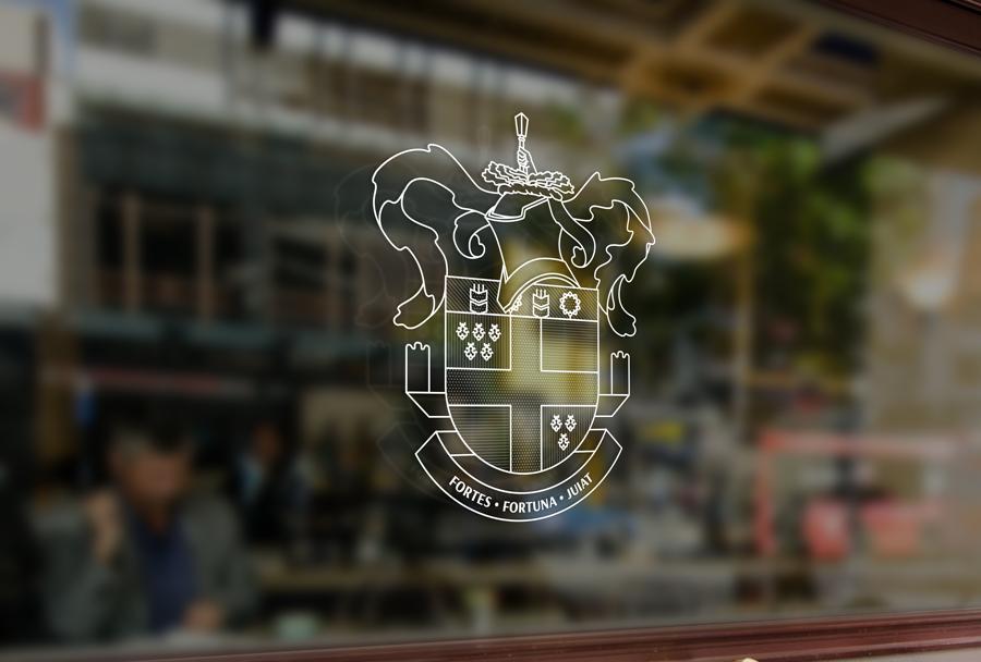 Герб может почти полностью заменить логотип. Он становится изображением рода и согласно польской традиции будет переходить от отца к сыну.