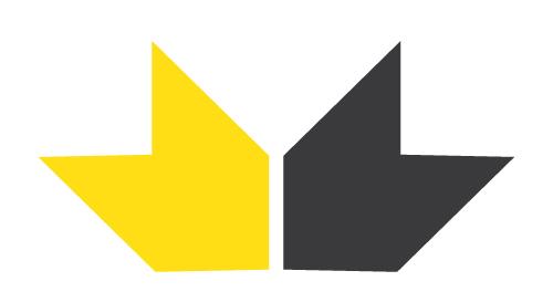 Из отдельных элементов логотипа можно легко воспроизвести этнический орнамент.