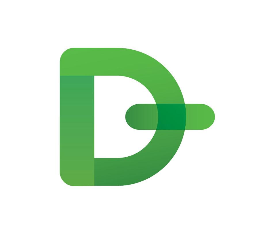 Знак «Open Dollar» построен на прописной букве «D», перечеркнутой с правой стороны. Подобное «перечеркивание», как и в других знаках валют, служит для того, чтобы обыватель не перепутал ее с обычной буквой. Знак имеет опрделенный мужской эротизм. Он может быть трактован как сила, начало, эго.