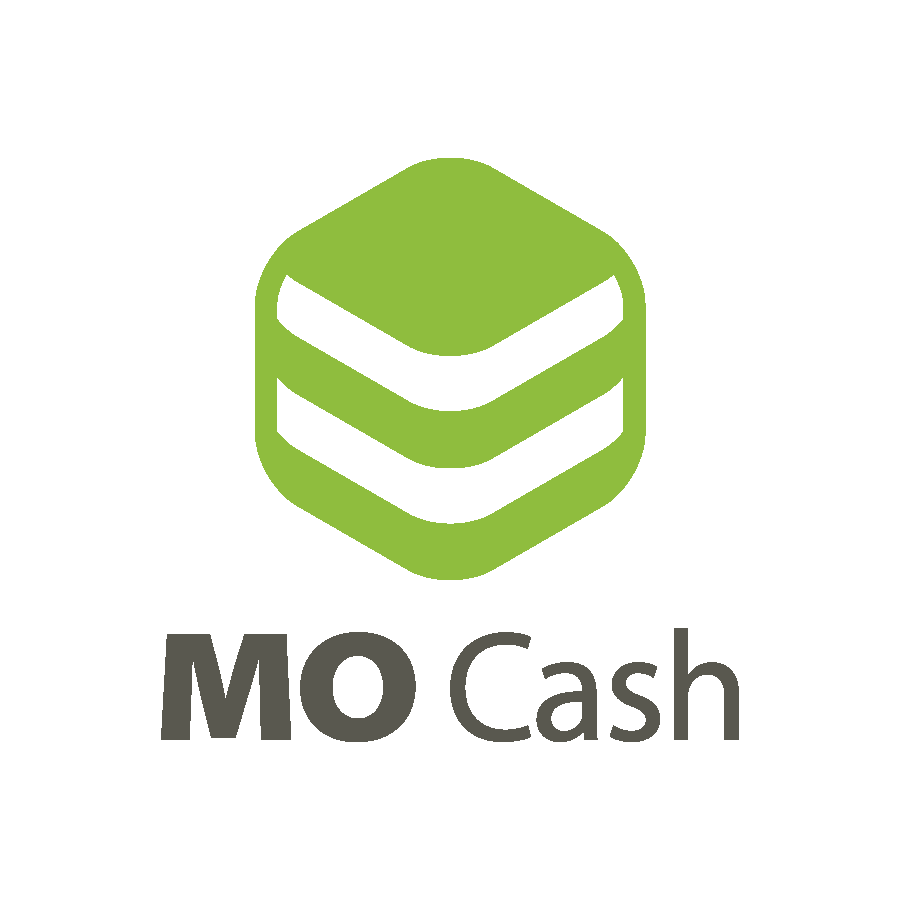 """Логотип сочетает в себе формотворящий элемент буквы """"М"""", сложенные в стопку банкноты и кнопку скачивания."""