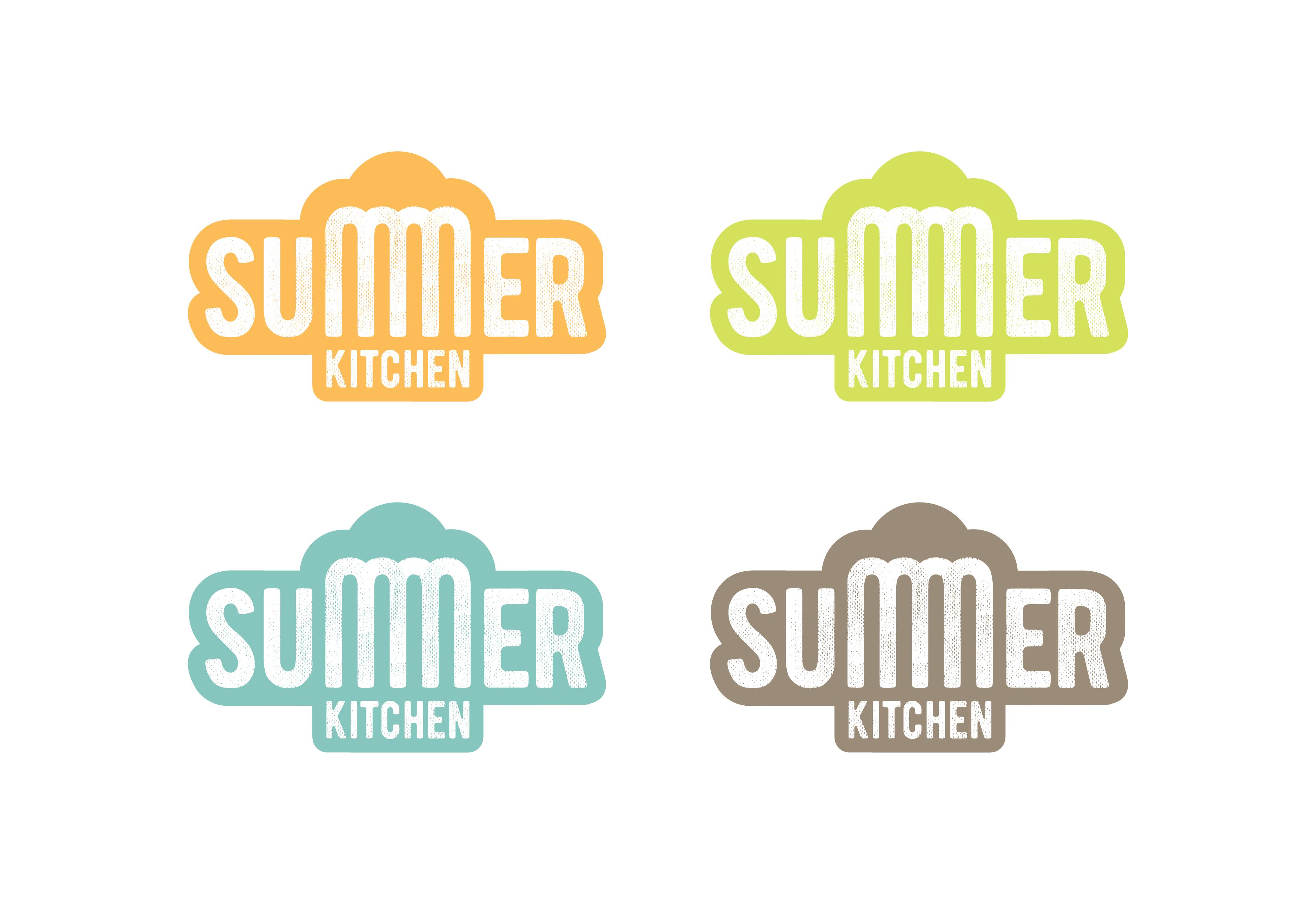 Мы решили не ограничиваться одним цветом, а сделать этот летний логотип в разных цветах лета