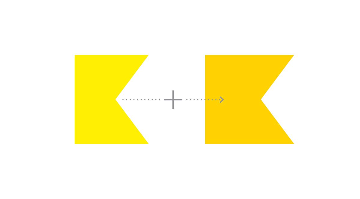 Основным элементом логотипа является буква «К»– первая буква в названии нашего города. Слитие двух букв «К» в слове «канал» и в слове «Київ» соеденяют деятельность и территорию.