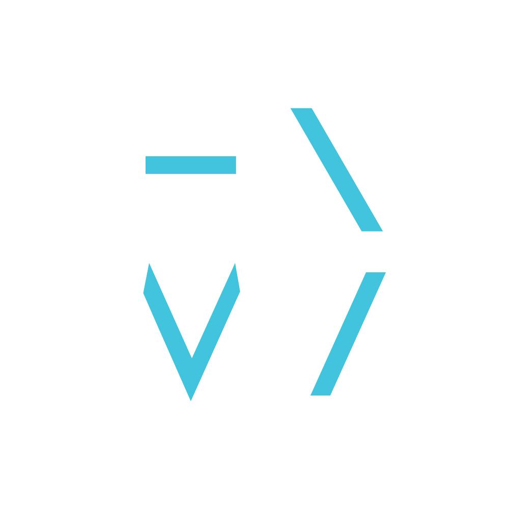 Этот же принцип мы использовали в логотипе, взяв характерные для букв фрагменты и обыграв их.