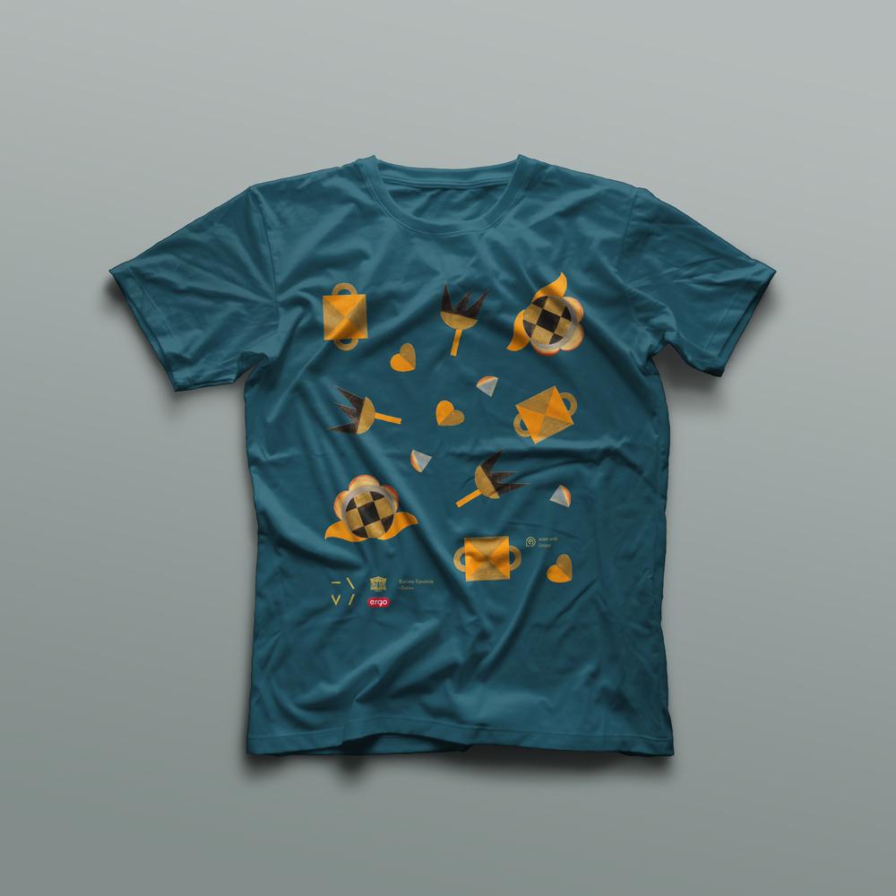 Ермилов, Падалка, Нарбут... это не полный список тех, чьи работы вдохновляли на создание сувенирных футболок и сумок