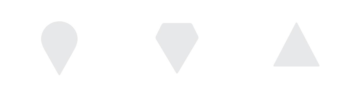 Десантно-штурмовые войска /купол парашюта, славянский щит/. Силы спец. операций /наконечник стрелы/. Воздушные силы /самолет/.